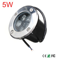 DC12V/AC85 265V 5w Outdoor Underground Lamp Waterproof IP67 LED Spot Floor Garden Yard LED underground light|underground light|led underground lightfloor garden -