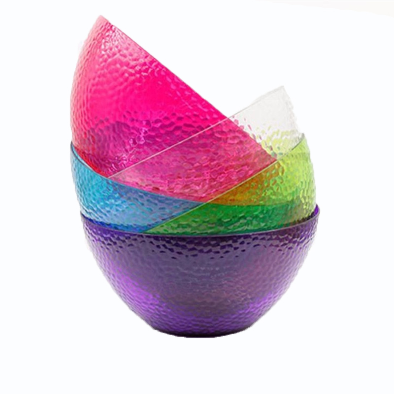 Colorful Big Salad Bowls Bubble Salad Bowl Fast Food Tray Fast Food Bowl Food Container Dinnerware