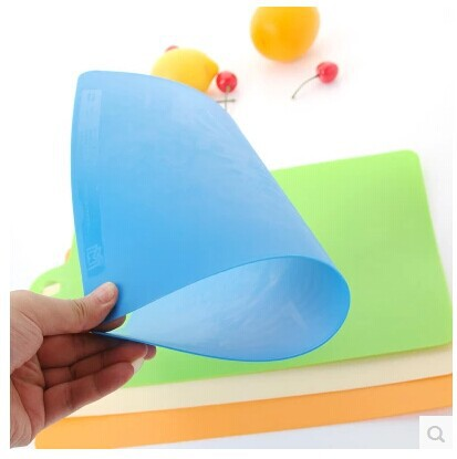 Kitchen Fruit Vegetable Cutting Board Plastic Flexible Antibiotic Resistant Soft Chopping Block Portable Kitchen Tools -30