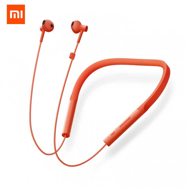Original Xiaomi Mijia Youth Version Neckband Wireless Bluetooth Earphone HiFi Dynamic Sports Headphone with Mic free shipping stock high quality original ie60 headphone moving coil unirt micdriver dynamic earphone no package