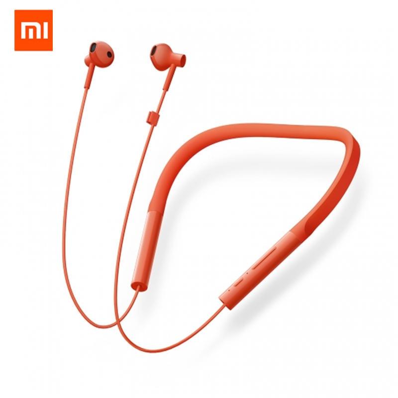 купить Original Xiaomi Mijia Youth Version Neckband Wireless Bluetooth Earphone HiFi Dynamic Sports Headphone with Mic по цене 2923.21 рублей