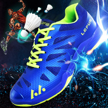 2019 Hot Men Badminton Shoes Women Professional Breathable Sports Shoe Anti Slip Athletic Exercise Zapatillas Training Sneakers li ning women s professional cushion badminton training shoes breathable sneakers lining double jacquard sports shoes aytm078