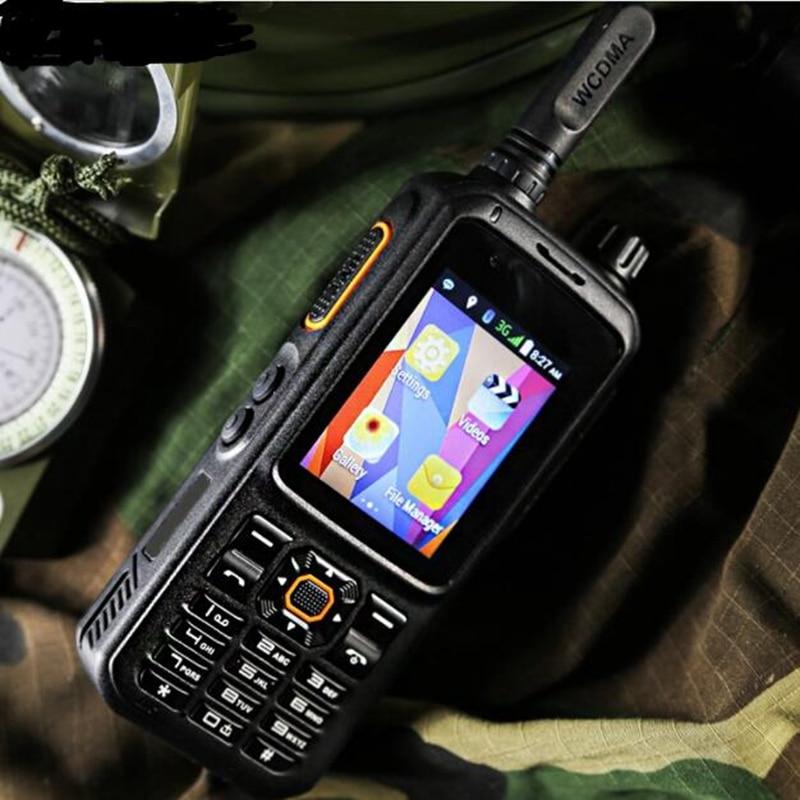 2018 Rete pubblica walkie talkie telefono gsm 3g wcdma wifi walkie talkie con accessori per Palmari Globale chiamata a due vie radio