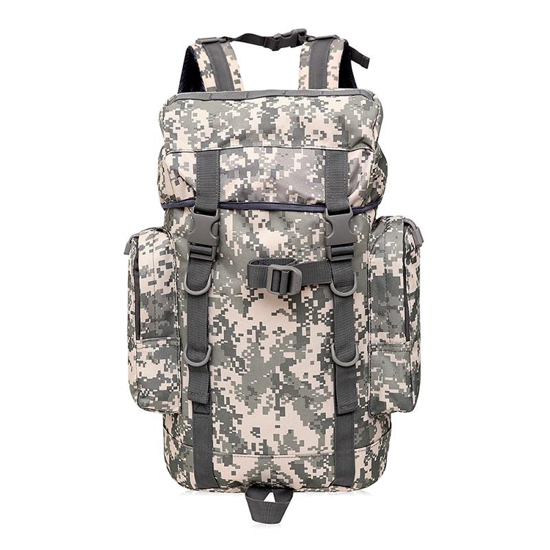 35L Outdoor Sport Bags Men Large Capacity Travel Trekking Bags Waterproof Camouflage Bac ...