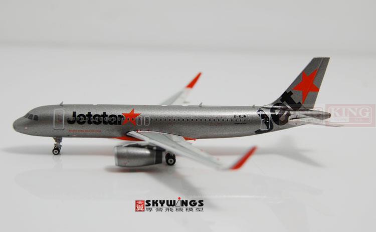 Phoenix 10772* A320 B-KJA 1:400 Hongkong Airlines Jetstar commercial jetliners plane model hobby