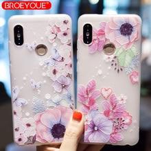 BROEYOUE Case For Xiaomi Redmi Note 4X 5A 5 Pro 3 Relief 4A Plus 3X 4 Prime MiA1 Mi6 5S