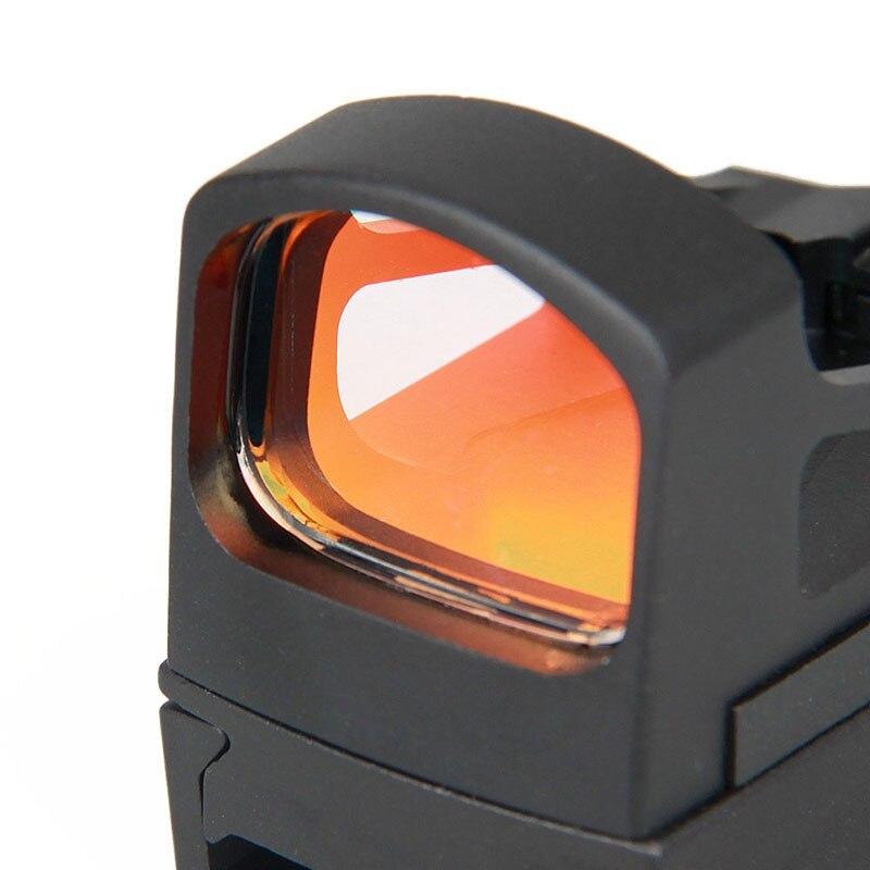 vermelho vista para tatico airsoft 212mm ferroviario gz2 0114 05