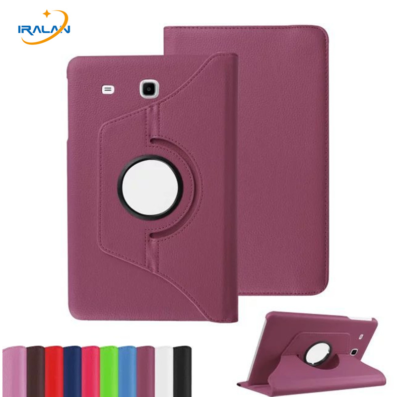 360 Rotating Flip Leather Stand Cover Tablet Case for Samsung Galaxy Tab E 9.6 T560 T561 with TPU X Line case+Screen film+Stylus 360 rotating flip leather stand cover tablet case for samsung galaxy tab e 9 6 t560 t561 with tpu x line case screen film stylus