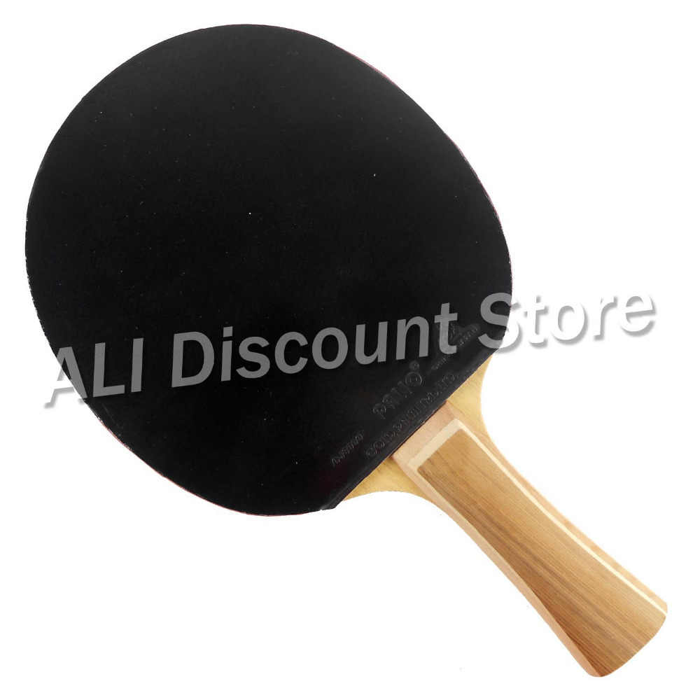 Palio KC2 for children Blade with 2x CJ8000 2 Side Loop Type Rubbers for a Table Tennis Combo Racket FL