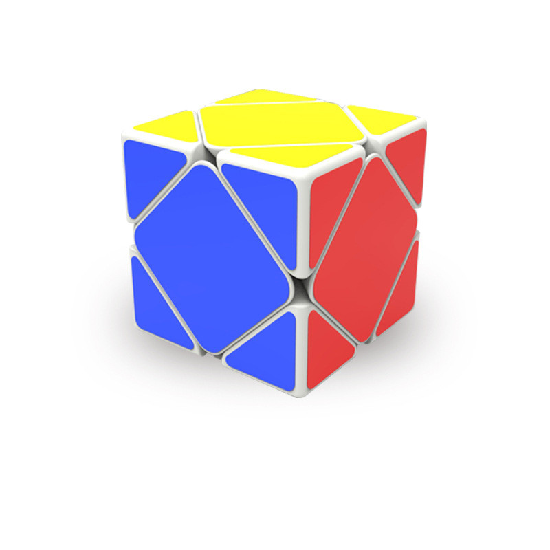 QIYI Professional Competition Magic Speed Cube Children Educational Brain Toy Magic Skew Cube for Adults