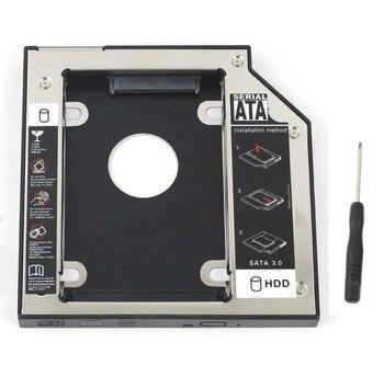 WZSM NEUE 9,5mm SATA 2nd SSD HDD Caddy für Asus Asus X550C X550B X550V X550D X450C X450 Festplatte stick Caddy