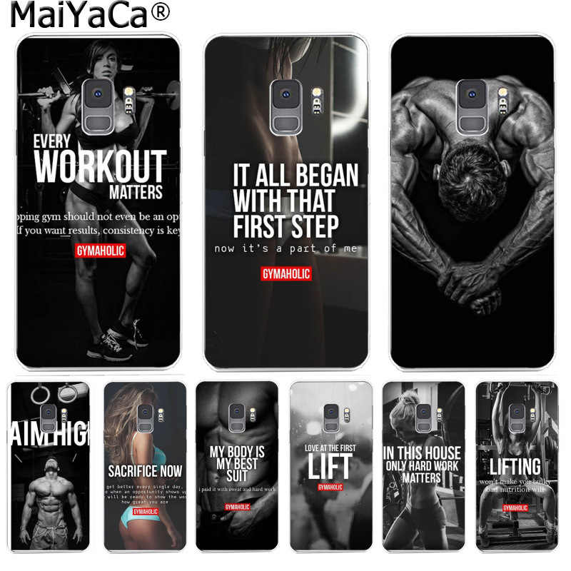 Maiyaca Loving Bodybuilding Gym Fitness Motivation Phone Case For Samsung S9 S9 Plus S5 S6 S6edge S6plus S7 S7edge S8 S8plus Aliexpress