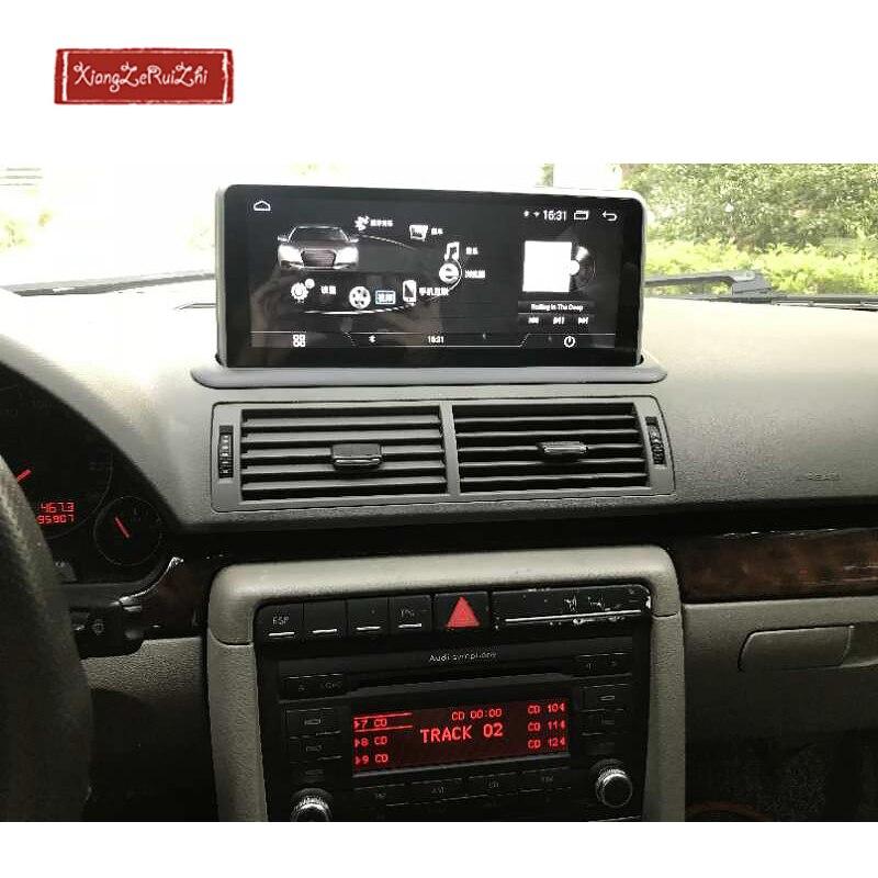 10.25 pouce Android voiture GPS dvd multimédia de navigation Pour AUDI A4 (2001-2009) avec radio/vidéo/USB/WIFI