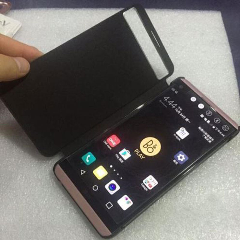 best sneakers 1e11d 8ea0a Smart Quick Cover For LG V20 Case Sleep Function Cover For LG V20 Fundas  View Window Pu Leather Case For LG V20 Flip Cover