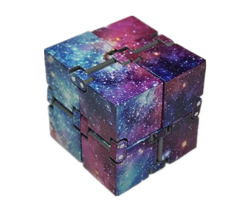 2019 New Trend Creative Infinite Cube Infinity Cube Magic Cube Office Flip Cubic Puzzle Anti Stress Reliever Autism Toys
