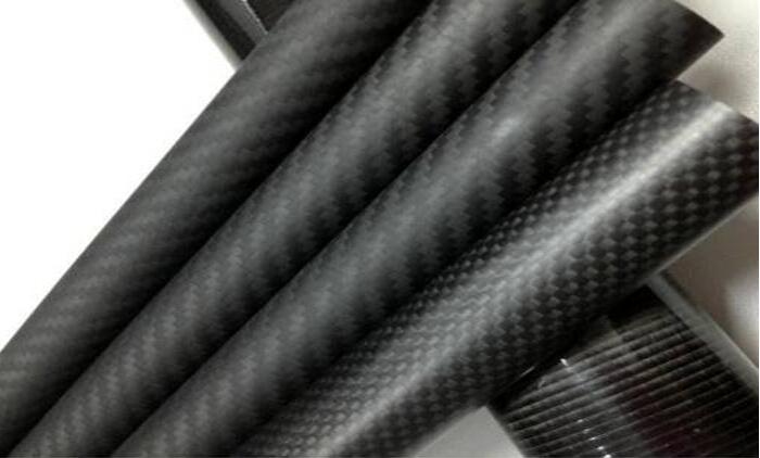 TianYuQi 3k 100% full Carbon fiber circular tube 1 meter Length OD 18mm 20mm 22mm 25mm 30mm for Quadcopter Hexacopter Model 1sheet matte surface 3k 100% carbon fiber plate sheet 2mm thickness