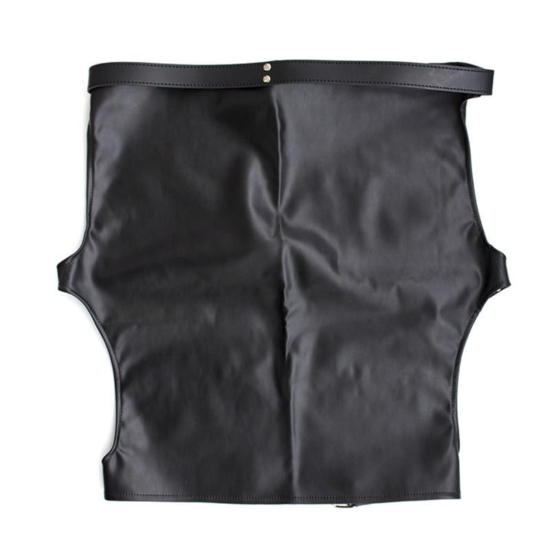 Bondage spank skirt