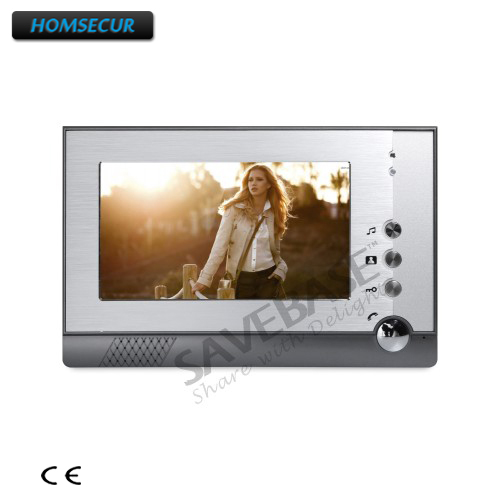 HOMSECUR 7 Color Indoor Monitor XM710-S for Video Door Phone Intercom System homsecur 4 3 color indoor monitor xm401 for video door phone intercom system