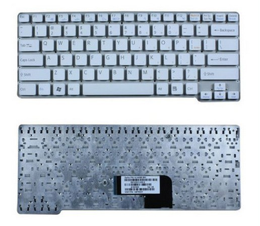 SSEA Free Shipping US New <font><b>Keyboard</b></font> white For Sony VAIO VPC-<font><b>CW</b></font> VPC <font><b>CW</b></font> VPCCW series without frame image