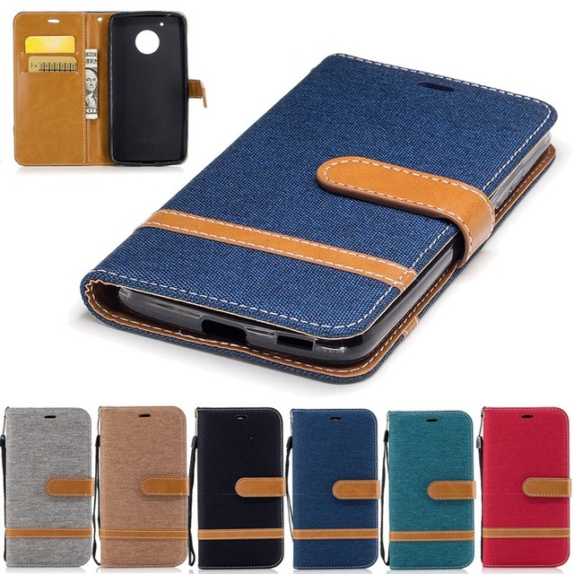 huge selection of e30f7 6e23d US $4.04 19% OFF|For Motorola Moto G5 Plus G 5 G5Plus Flip Cases Cover Jean  Wallet Case Soft Shell Etui Hoesje Capinha Fundas Capa Carcasa Coque-in ...