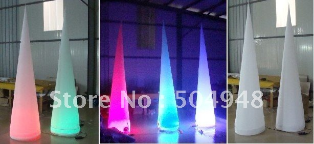 inflatable lighting cone for party decoration inflatable lighting star for party decoration