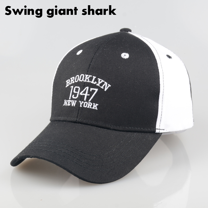 swing giant font shark fashion baseball fin hat paul cap and