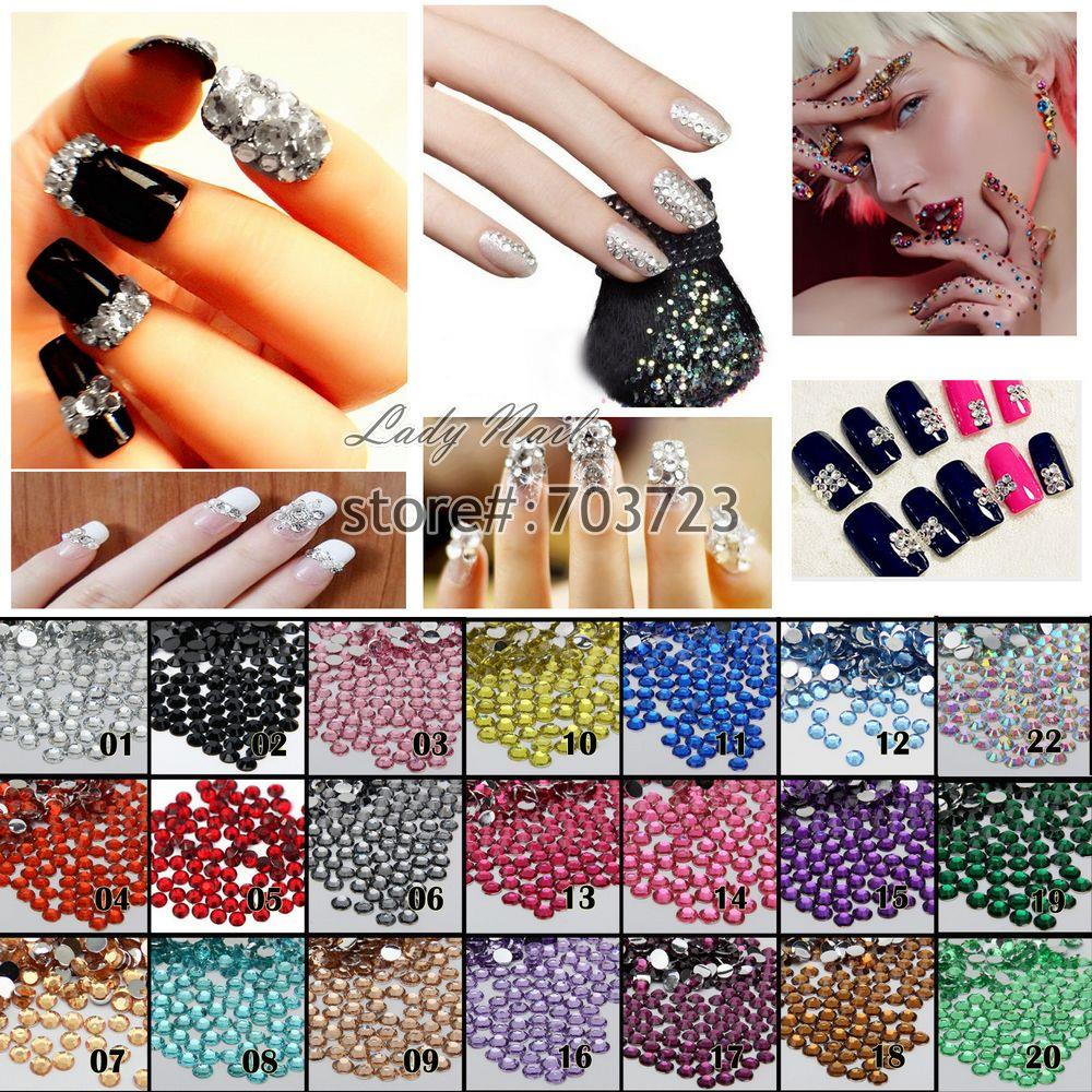1000 pcs 6mm ss30 Resin Round Rhinestone Flatback Rhinestones 14 Facets DIY Nail Art Decoration Beads Color Choice N01-N22 женская футболка lol t 15 1 creat lol 8952