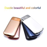 Power Bank 30000mah Power Bank 2 USB LCD Powerbank Portable Mobile Phone Charger Battery Charger Cases For Huawei P20 Pro