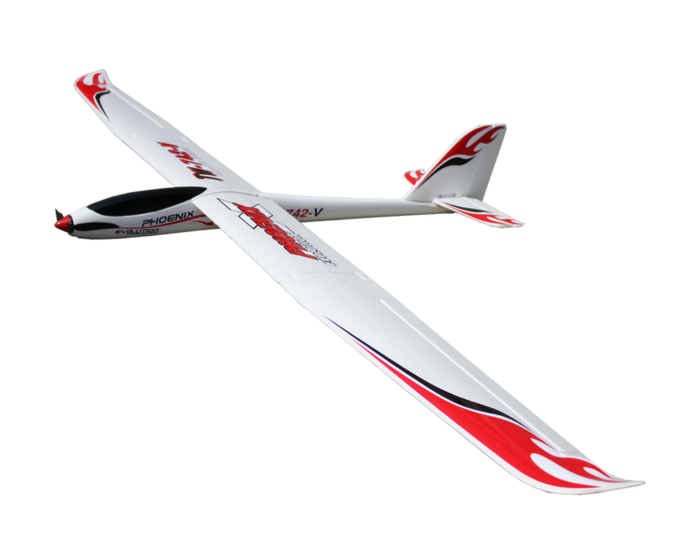 Volantex Phoenix Evolution RC KIT Plane Model W/O Motor Servos ESC Battery pre sale phoenix 11216 air france f gsqi jonone 1 400 b777 300er commercial jetliners plane model hobby