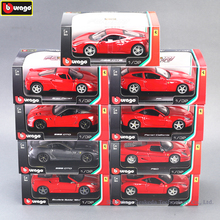 Bburago 1:32 Ferrari 599GTO High-imitation Car Model Die-casting Metal Toy Gift Simulated Alloy Collection