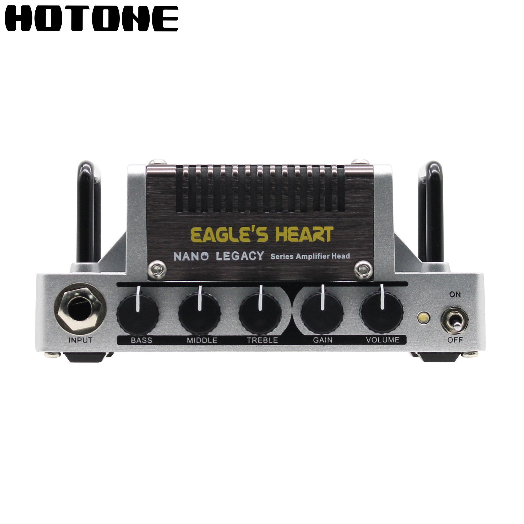 Hotone Eagle's Heart Amplifier Head Nano Legacy Series Inspired by Famous Savage120 AMP 5 Watts Output 3 Band EQ стулья для салона led by heart 2015