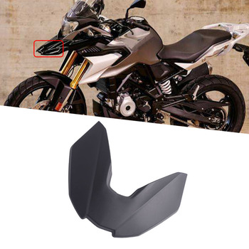 G310 GS Motorcycle Parts Black Front Fender Beak Extension Fender Extender Wheel Cover Cowl For BMW G310GS 2017 2018