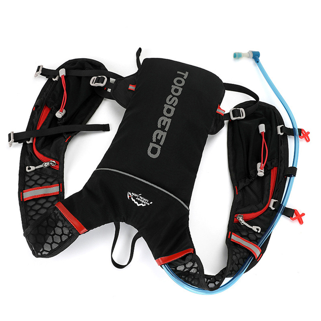LOCAL LION Running Bag, Bicycle Running Backpack, Cycling 2L Hydration Rucksack, Men Sport Bag, Waterproof Riding Bike Back Pack