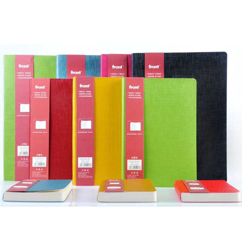 Perfect Leather notebook paper A5 A6 156 Sheets personal Diary thick notebook Notepad Creative Office School Supplies note book a6 diary pink notebook simple fabric 128 sheets coffee gray notepad line paper diary book school office supplies