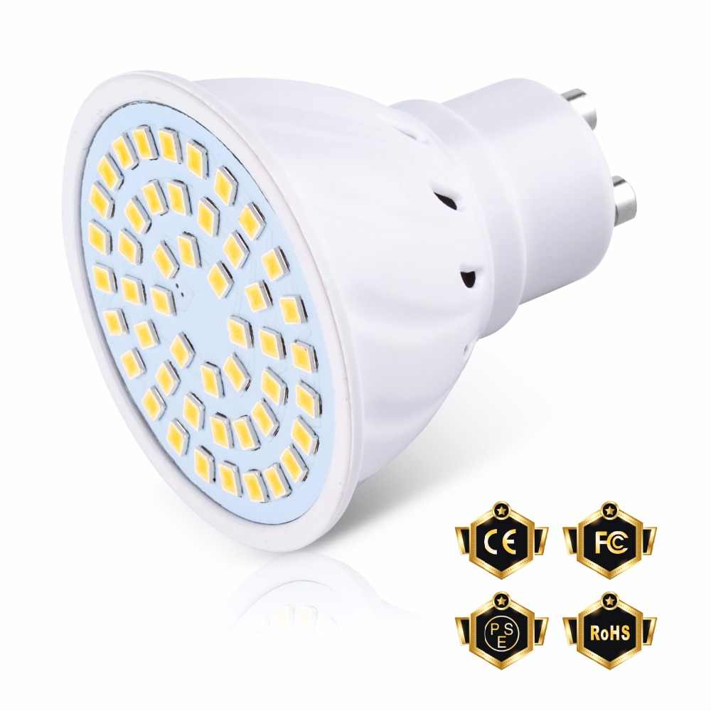 MR16 Spotlight E27 LED Bulb 5W 7W Bombilla LED GU10 Bulb E14 Spot Light gu 10 LED 220V GU5.3 Corn Lamp B22 Home Lighting 2835SMD