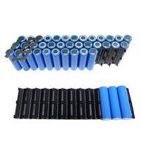 10 pces 2x1 0 p/2x13 p celular plástico 18650 bateria espaçador titular suporte de célula cilíndrica para acessórios de armazenamento de bateria -