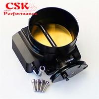 102mm Throttle Body For G M Gen III Ls1 Ls2 Ls6 Ls3 Ls Ls7 SX 4 Cnc Bolt Cable Black