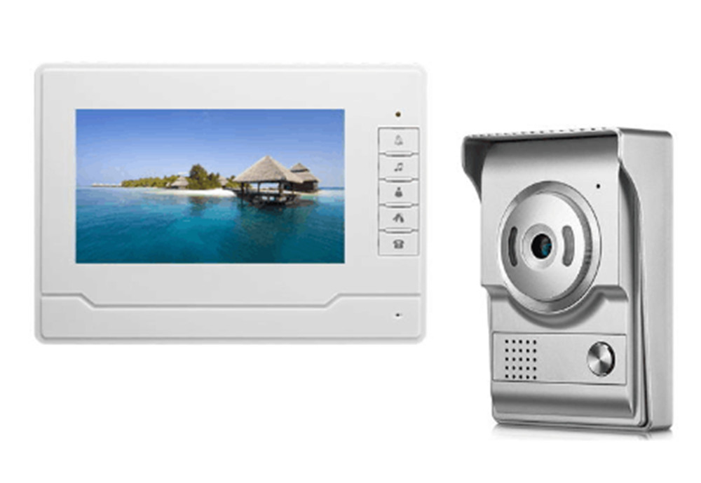 HD 700TVL 7 Inch IR Night Vision Video Door Phone Intercom System HD 700TVL 7 Inch IR Night Vision Video Door Phone Intercom System
