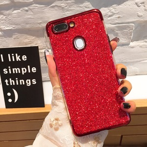 Plating Glitter Bling Silicone Phone Case For OPPO F7 F11 Pro F5 Youth A73 A73T F9 Back Case A9 A5 2020 Reno Z 2 10XZOOM K1 F1(China)