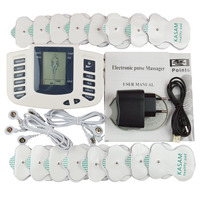 Russian English Body Healthy care Digital meridian therapy massager machine Slim Slimming Muscle Relax Fat Burner pain massage
