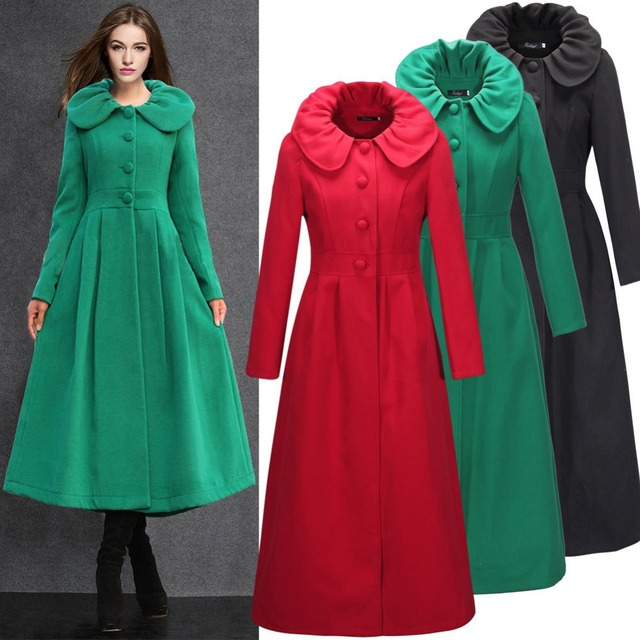 fa0f604d01425 2015 New design winter overcoat wool coat jacket oversize islamic clothes  long cardigan casual abaya turkish