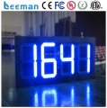 Leeman 10inch 8 inch Large led display date-time,large date time display board,large screen temperatur humidity controller