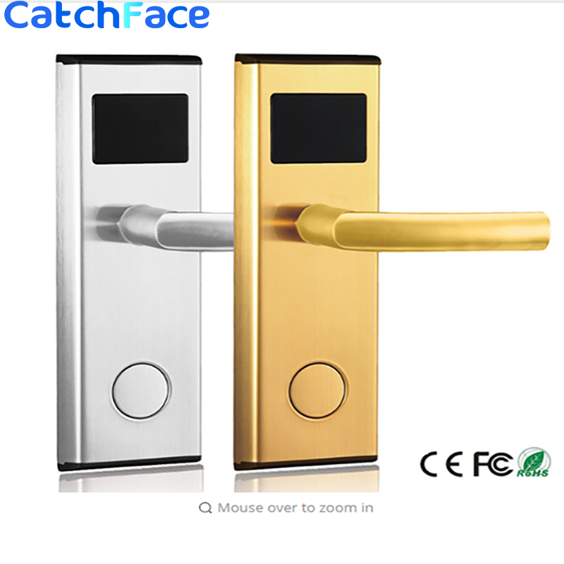 Stainless Steel Good Quality Door Lock  Hot Sale Smart RFID Card  Door Lock   Electric Hotel Door  Lock