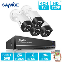 ANNKE 8CH 960H HDMI DVR 800TVL CCTV Video Surveillance Security Cameras System