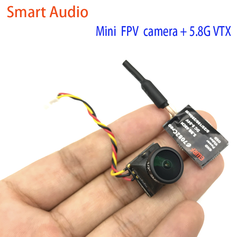 5.8G 48CH video transmitter e7082C 25/100/200mW Power Adjustable and Caddx Turbo EOS2 CMOS 1200TVL 2.1mm  Mini FPV Camera5.8G 48CH video transmitter e7082C 25/100/200mW Power Adjustable and Caddx Turbo EOS2 CMOS 1200TVL 2.1mm  Mini FPV Camera