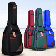 Waterproof Ultra Thicken 40 41 Steel-String Classical Guitar Bag Case Backpack Guitarra Bass Parts Nylon Carry Gig Canvas