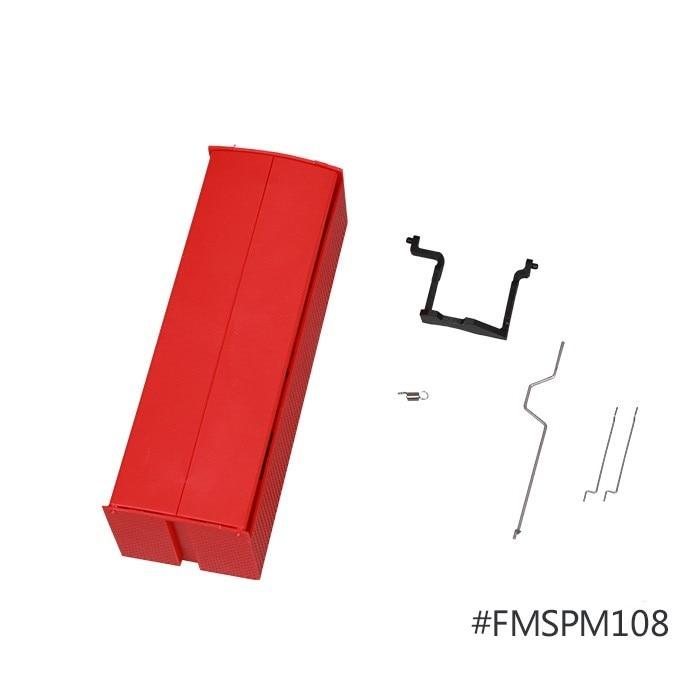 FMS 1400mm 1.4m T28 Trojan V3 & V4 Front Landing Gear Cover Set Red Yellow FMSPM
