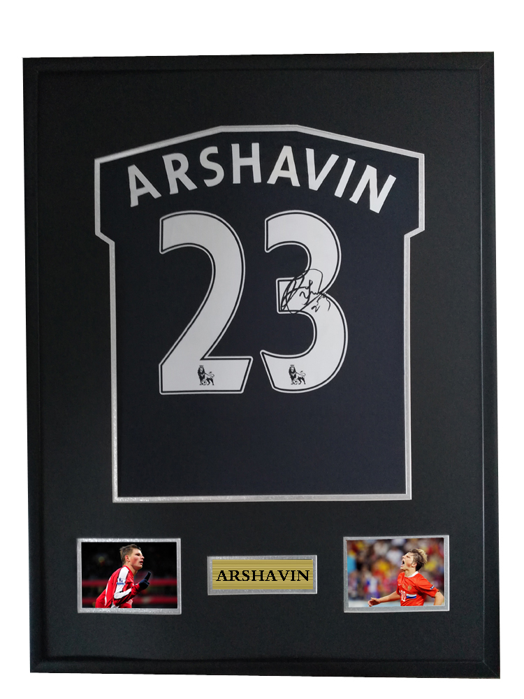 designer fashion f504f aa498 US $600.0 |Arshavin signed autographed soccer shirt jersey come with Sa coa  framed Arsenal-in Frame from Home & Garden on Aliexpress.com | Alibaba ...
