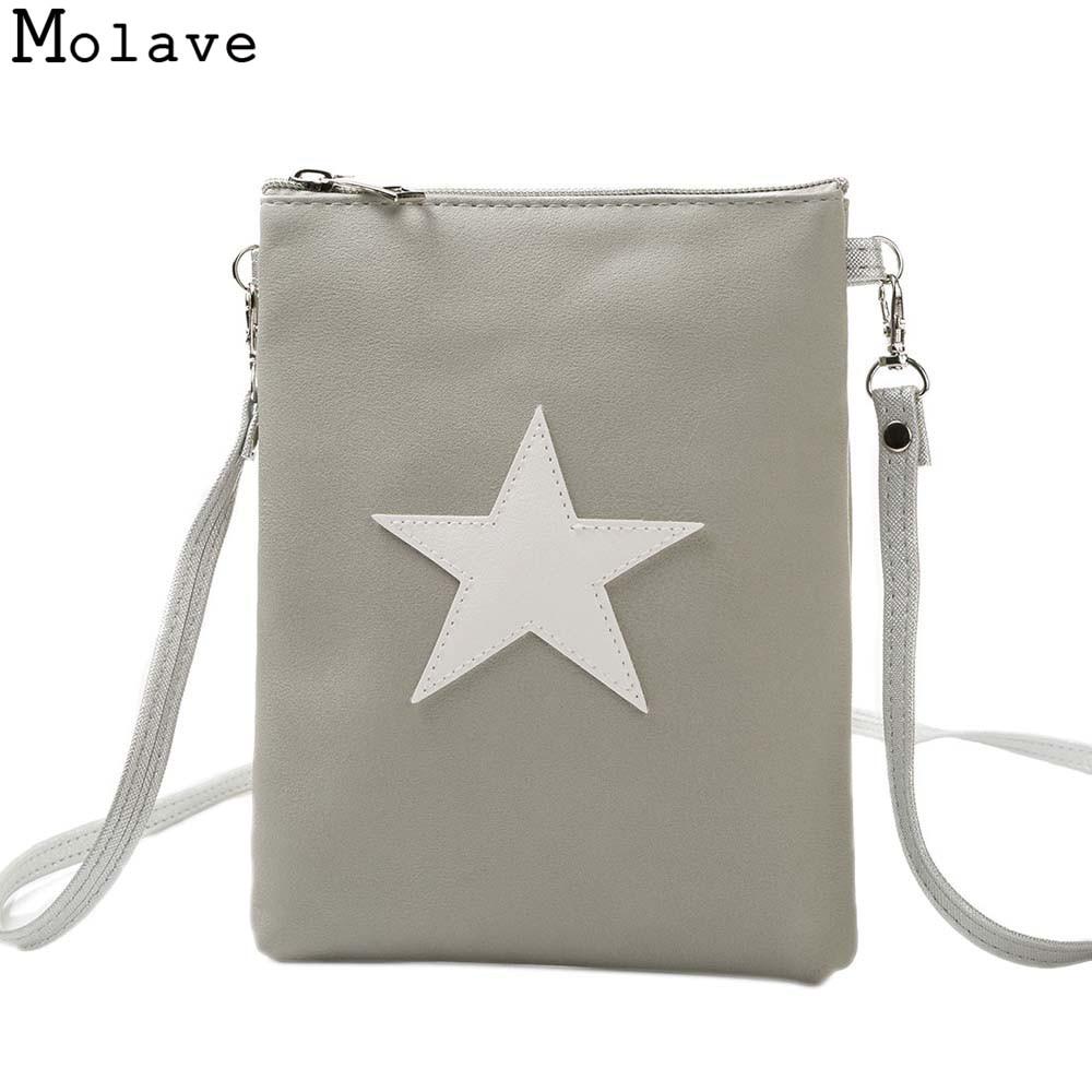 Crossbody bags for women pu leather shoulder bag Star Appliques Messenger Bag Ladies Shoulder Bag Female OCTT31