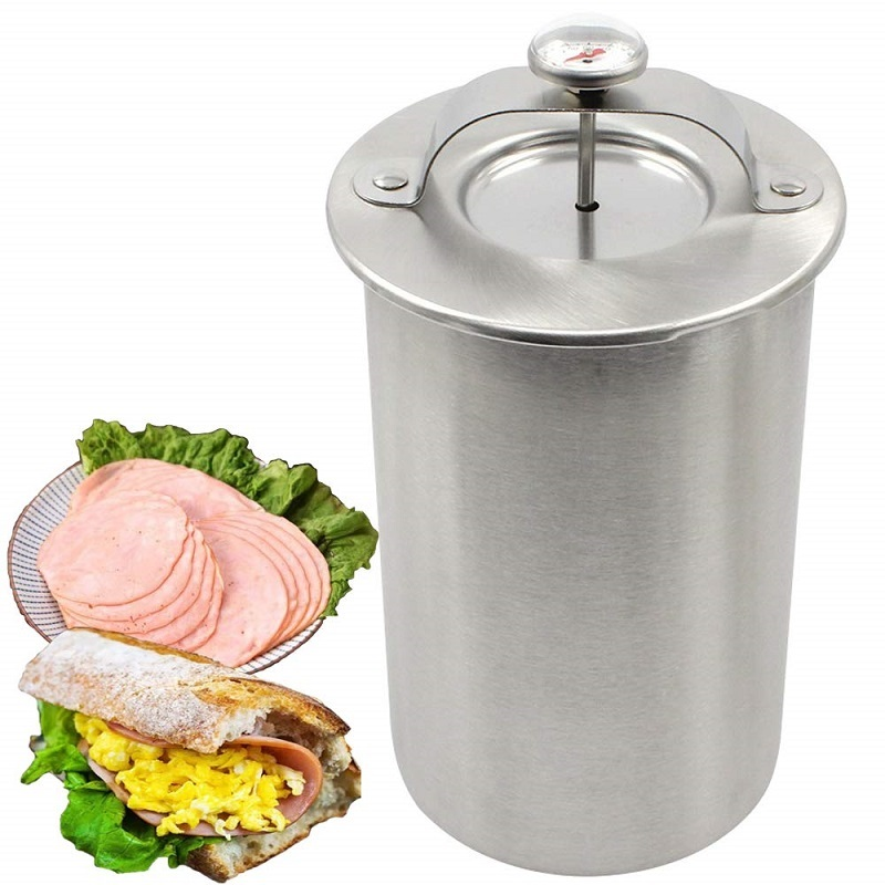 Stainless Steel Patty Maker Ham Press Ham Meat Making Pot With a Thermometer Kitchen Meat Tool Meat Cooking Pot Ham Maker on AliExpress